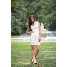 """Дамска рокля """"Бяло сияние"""""""