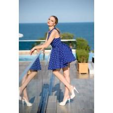"""Дамска рокля """"Синьо очарование"""""""