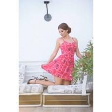 """Дамска рокля """"Нежни рози"""""""